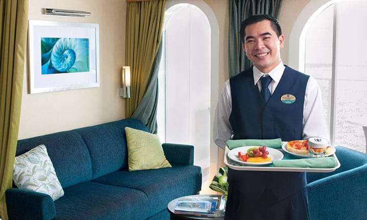 Room service waitor
